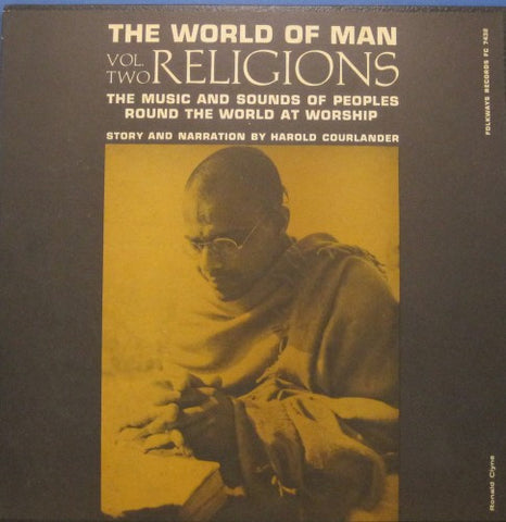 World of Man Religions Vol. 2 - Folkways 10""