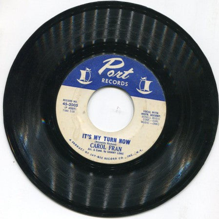 Carol Fran - You Can't Stop Me / It's My Turn Now