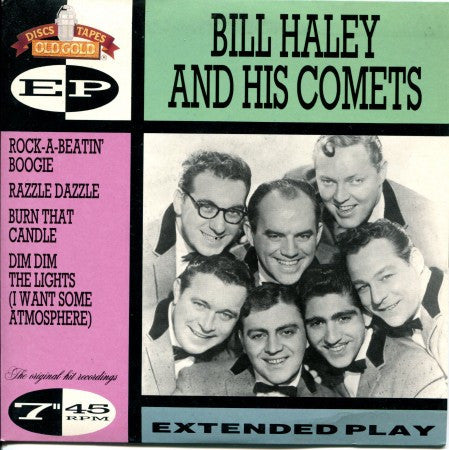 Bill Haley and His Comets - Rock-A-Beatin' Boogie Ep/ Rock-a-Beatin / Razzle/ Burn / Dim Dim