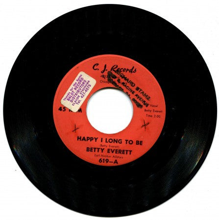 Betty Everett - Happy I Long To Be/ Your Loving Arms