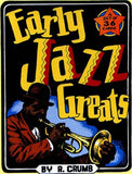 Early Jazz Greats Trading Cards - R. Crumb: Artist