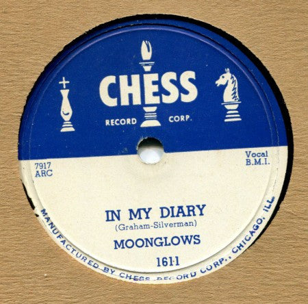 Moonglows - In My Diary/ Lover, Love Me