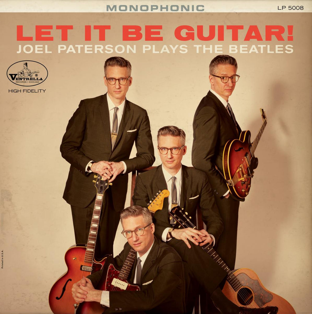 Joel Paterson - Let There Be Guitar - JP Plays The Beatles (limited Colored Vinyl version)