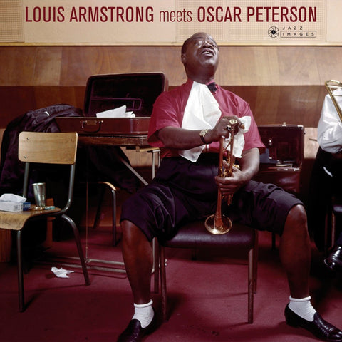 Louis Armstrong Meets Oscar Peterson - 180g import w/ gatefold