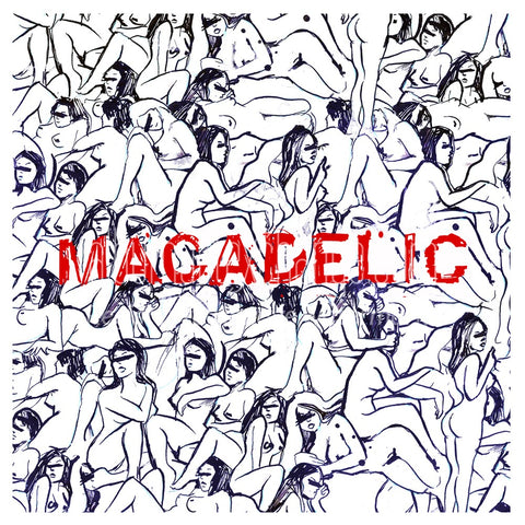 Mac Miller - Macadelic - 2 LP set on clear vinyl!