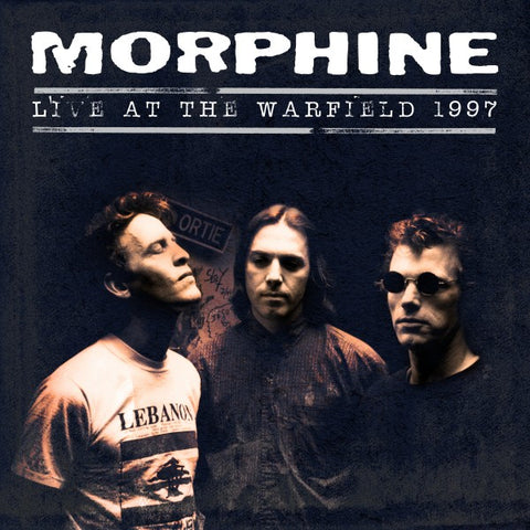 MORPHINE - Live at the Warfield 1997 - 2 LP set LIMITED Numbered