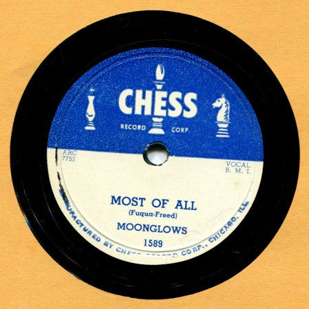 Moonglows - Most of All/ She's Gone