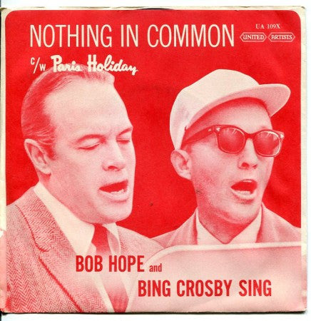 Bing Crosby - Nothing In Common / Paris Holiday