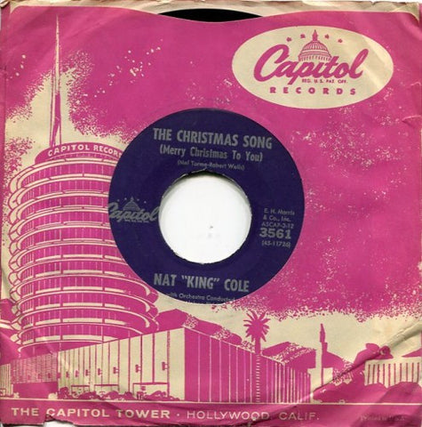 Nat King Cole - The Christmas Song/ The Little Boy That Santa Claus Forgot