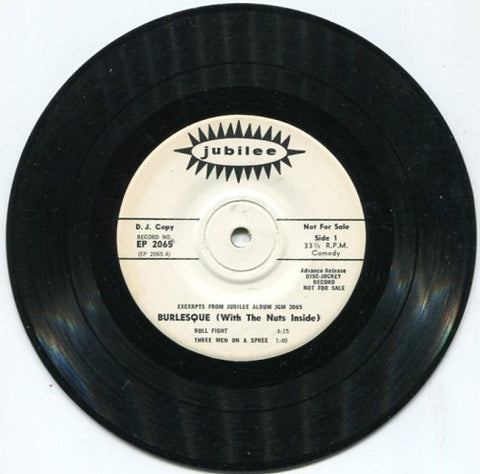 Various - Burlesque (With The Nuts Inside)/ Bull Fight / 3 Men on a Spree/ The Bells / Howdy