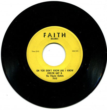 Evelyn Gay - God Promised to Provide/ Oh You Don't Know Like I Know