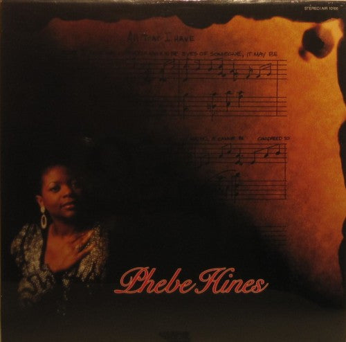 Phebe Hines - All That I Have