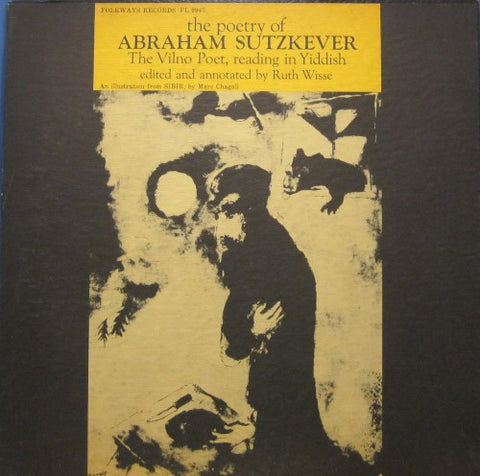 The Poetry of Abraham Sutzkever - Read in Yiddish