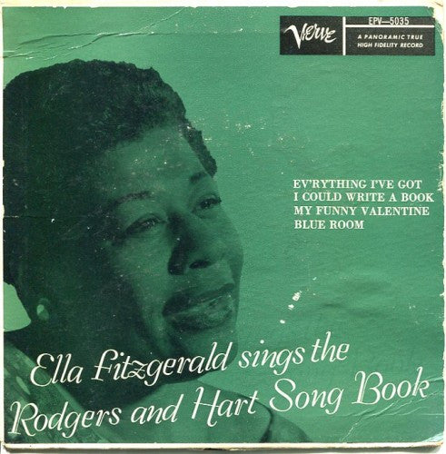 Ella Fitzgerald - Sings the Rogers and Hart Song Book