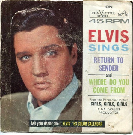 Elvis Presley - Return to Sender/ Where do you come from