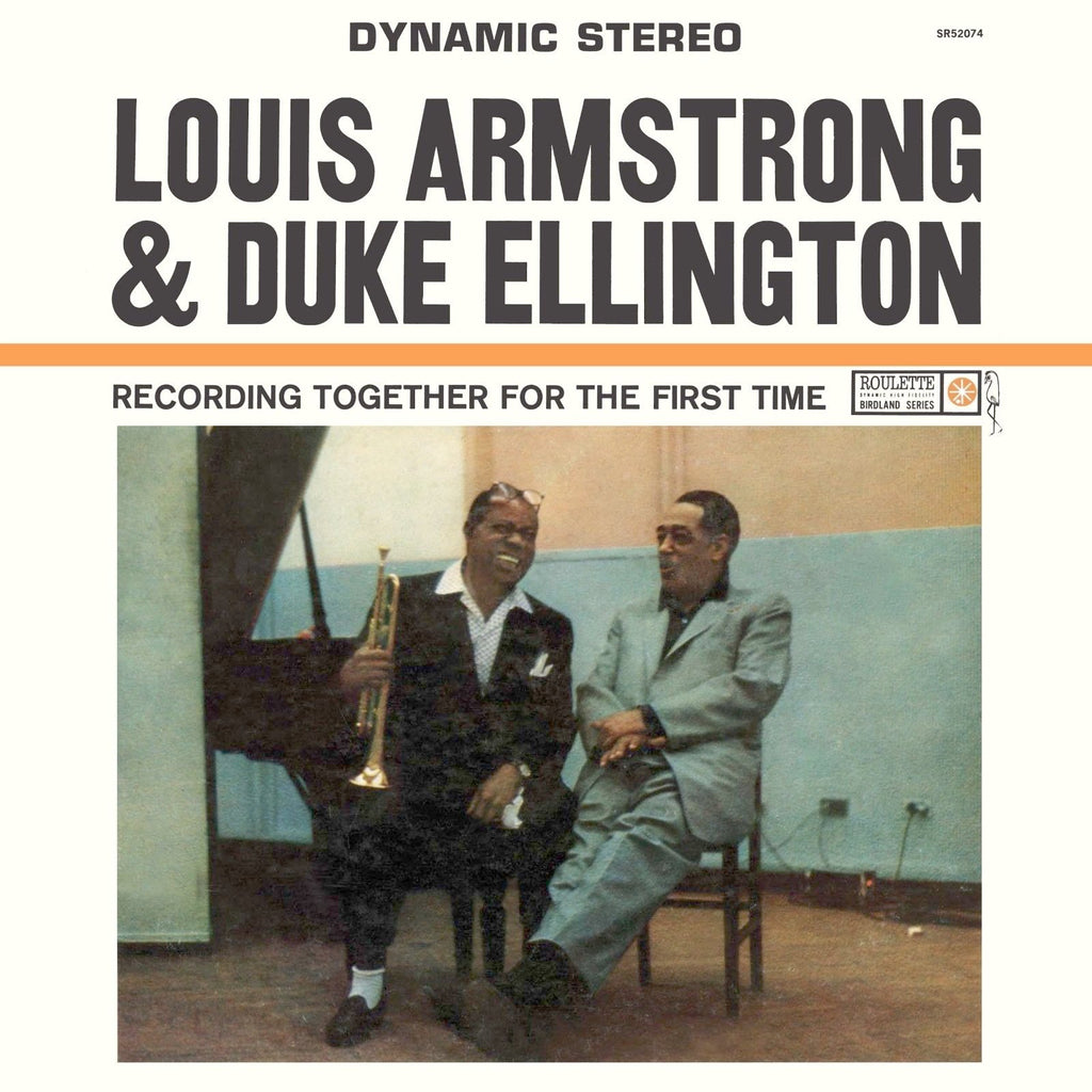 Louis Armstrong & Duke Ellington Together for the First Time 180g LP