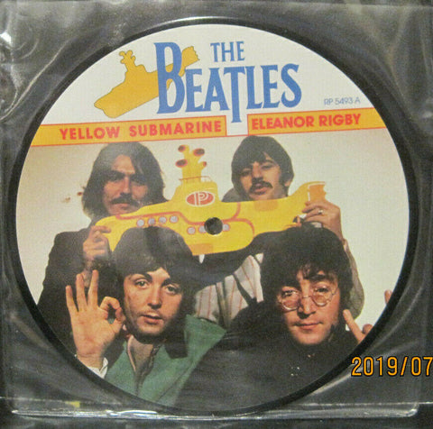 "BEATLES - Yellow Submarine - 20th Anniversary 7"" Picture Disc UK Pressing"