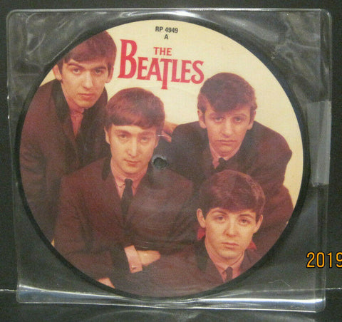 "BEATLES - Love Me Do - 20th Anniversary 7"" Picture Disc UK Pressing"