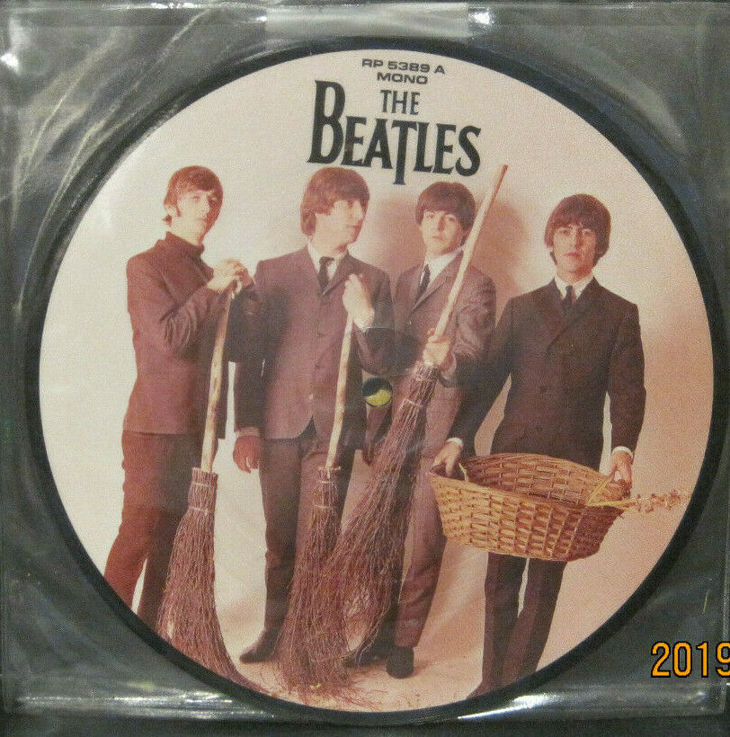 "BEATLES - We Can Work it Out - 20th Anniversary 7"" Picture Disc UK Pressing"
