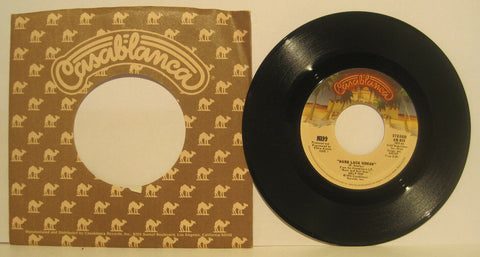KISS - Hard Luck Woman - Original Casablanca 45rpm NB873 NM