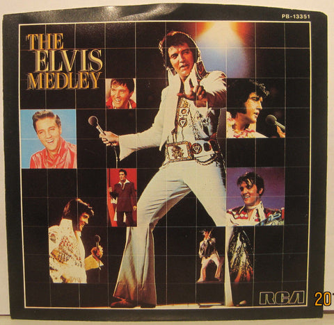 Elvis Presley - The Elvis Medley b/w Always on my Mind w/ PS