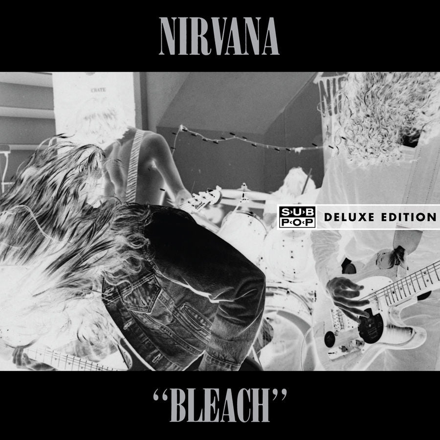 Nirvana - Bleach Deluxe 2 LP set 180g w/ bonus live & download code