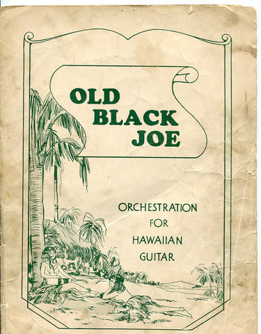 Old Black Joe - 1935 Black Americana Sheet Music