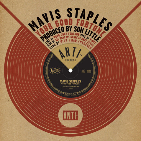 "Mavis Staples - Your Good Fortune 10"" EP w/ Son Little"