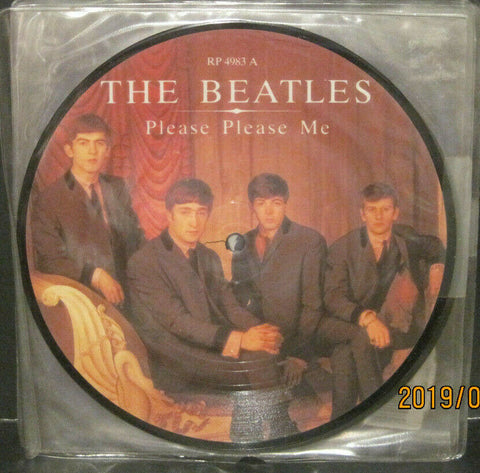 "BEATLES - Please Please Me - 20th Anniversary 7"" Picture Disc UK Pressing"
