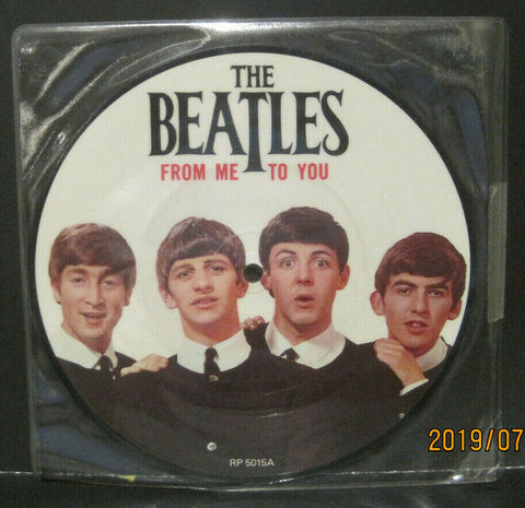 "BEATLES - From Me To You - 20th Anniversary 7"" Picture Disc UK Pressing"