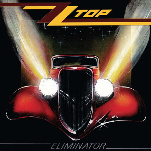 ZZ Top - Eliminator - limited RED vinyl w/ download