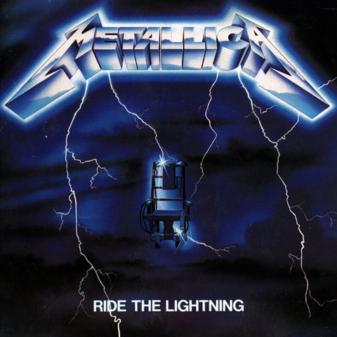 Metallica - Ride the Lightning - 180g re-mastered
