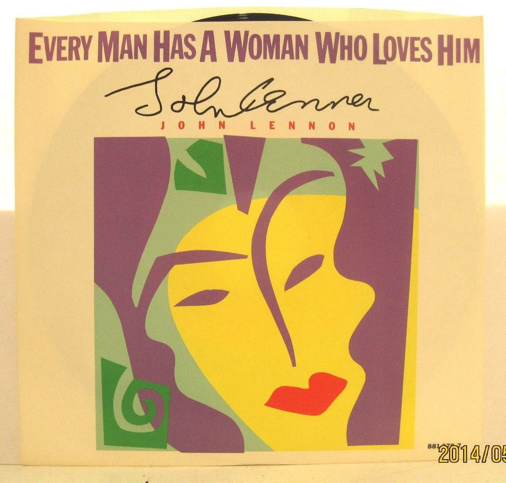 John Lennon - Every Man Has a Woman Who Loves Him / It's Alright w/ PS