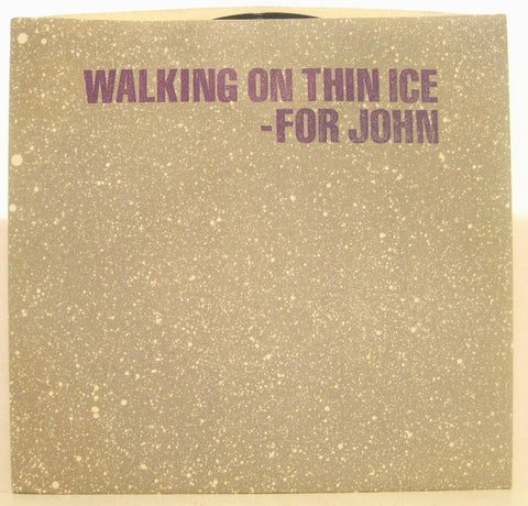 Yoko Ono - Walking on Thin Ice w/ PS & Insert NM JOHN LENNON