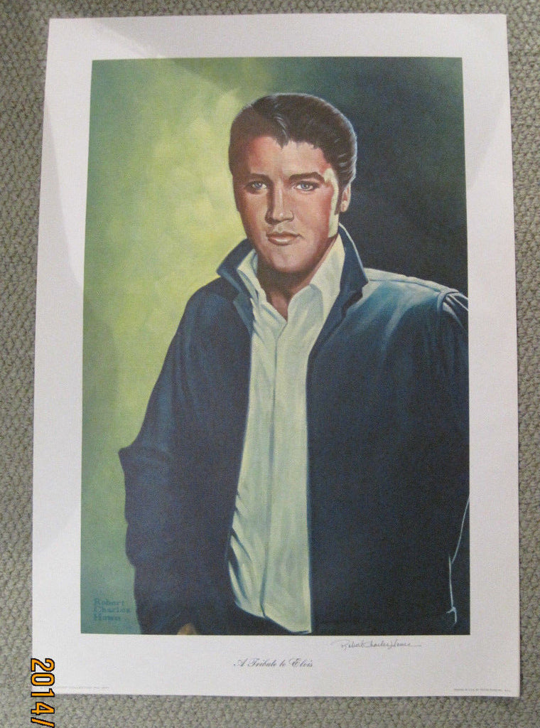 "Elvis Presley ""A Tribute to Elvis"" by Robert Charles Howe Signed Print / Poster"