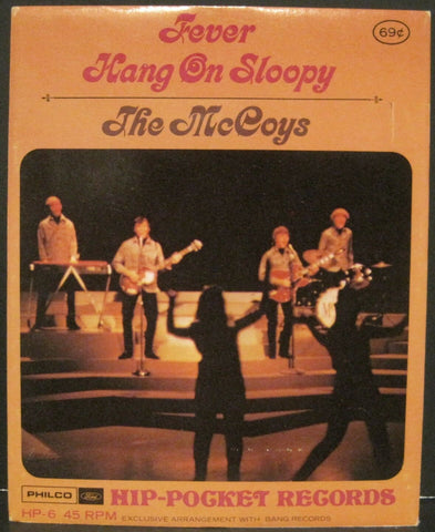 McCOYS -Hang On Sloopy / Fever - Hip-Pocket Records MINT Sealed in Envelope