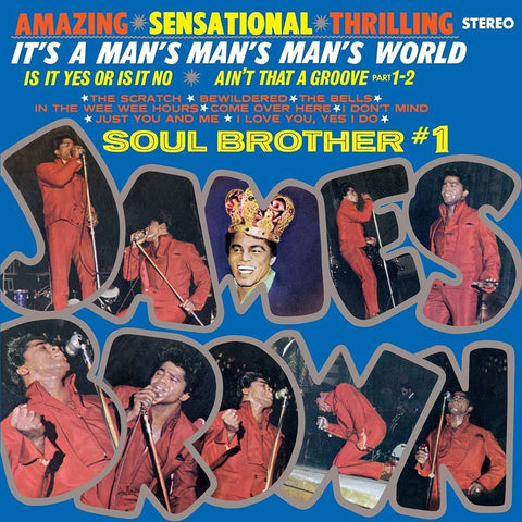 James Brown - It's a Man's Man's Man's World - SEALED NEW LP