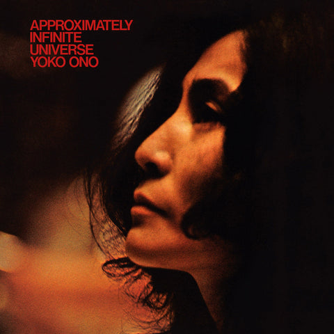 Yoko Ono - Approximately Infinite Universe - 2 LP on LTD WHITE vinyl incl download w/ bonus tracks