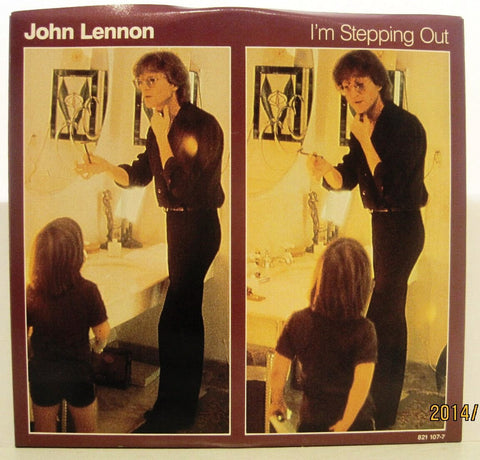 John Lennon - I'm Stepping Out - 1984 Polydor 45rpm w/ PS NM
