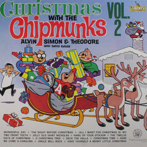 Chipmunks - Christmas with the Chipmunks Vol 2 Limited White Vinyl