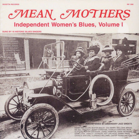Various Artist: Mean Mothers - Independent Women's Blues Vol 1 LP w/ deluxe gatefold