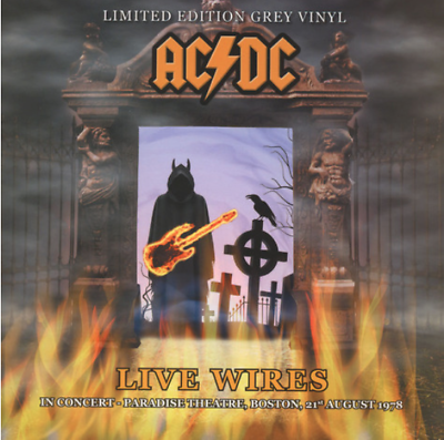 AC/DC - Live Wires - NEW SEALED import LP Live in '78 on Grey Vinyl