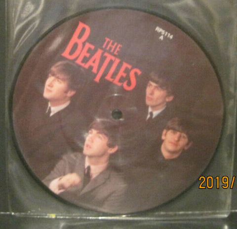 "BEATLES - Can't Buy Me Love - 20th Anniversary 7"" Picture Disc UK Pressing"