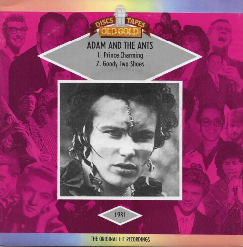 Adam and the Ants - Prince Charming / Goody Two Shoes w/ PS