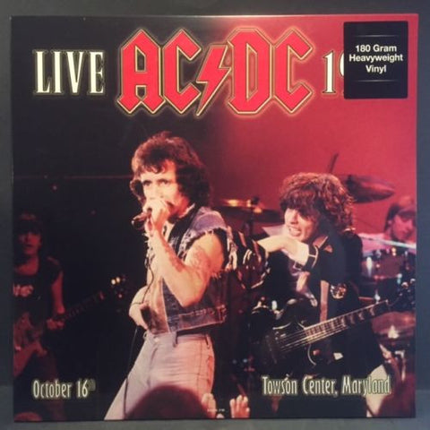 AC/DC - Live at the Towson Center 1979 2 LP 180g