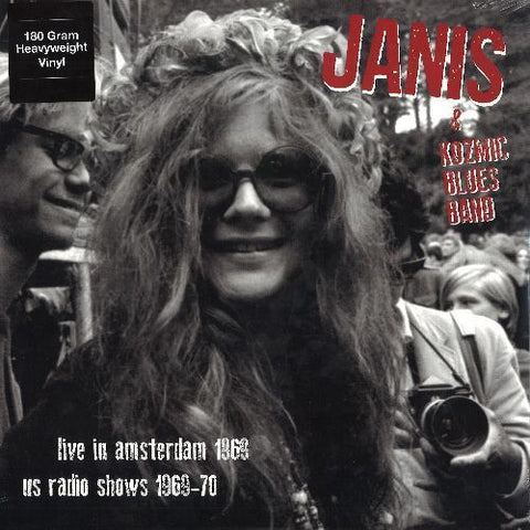 Janis Joplin Live in Amsterdam 1969 & US Radio Shows 1969-70 on 180g colored vinyl