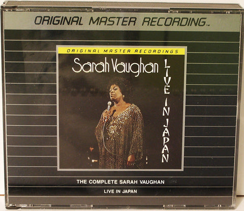 Sarah Vaughan - Live In Japan (Complete)