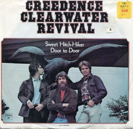Creedence Clearwater Revival - Sweet Hitch-Hiker/ Door to Door w/ PS