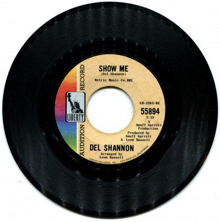 Del Shannon - Show Me/ Never Thought I Could