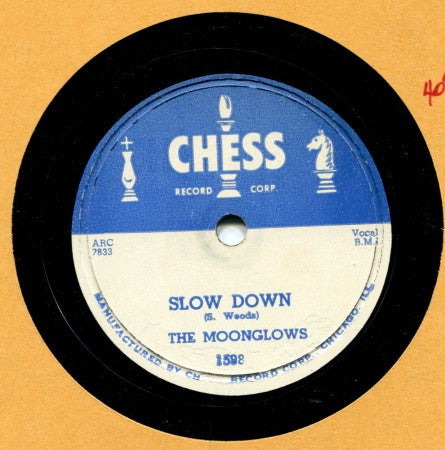 Moonglows - Slow Down/ Foolish Me